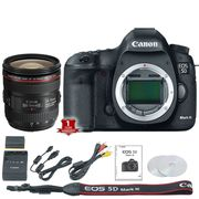 EOS 5D Mark III With EF 24-70mm f/4 L IS USM Lens Kit