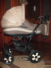 Новая детская коляска 2 в 1,  производство Польша