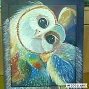 Продам картину совы