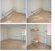 Кровать металлическая армейского образца. Доставка по РБ – бесплатно.