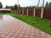 Укладка тротуарной плитки,  бордюры в Бобре