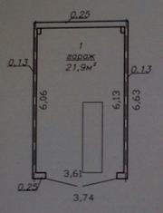 Продаётся гараж в ГСК №2,  капитальный (погреб,  смотровая яма,  электрич